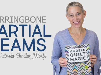 How to Piece Partial Seams with Victoria Findlay Wolfe