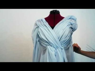 How to sew a ball dress part 3
