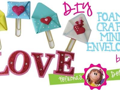 Mini Envelope Paper Clip DIY - Fun Foam Craft