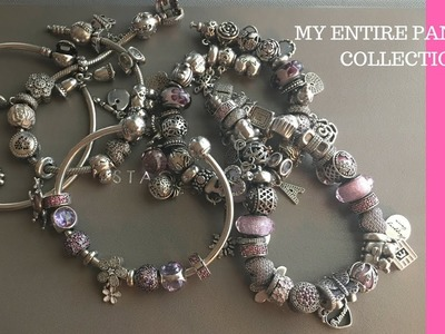 MY WHOLE PANDORA CHARM COLLECTION UPDATED!