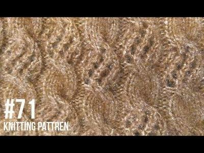 New Beautiful Knitting pattern Design #71 2018