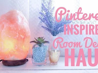 PINTEREST INSPIRED ROOM DECOR HAUL (Philippines) | Abbybaby