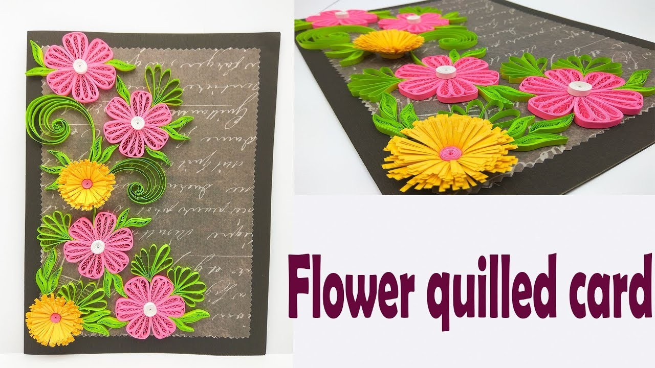 Quilling Card Handmade Birthday Designs