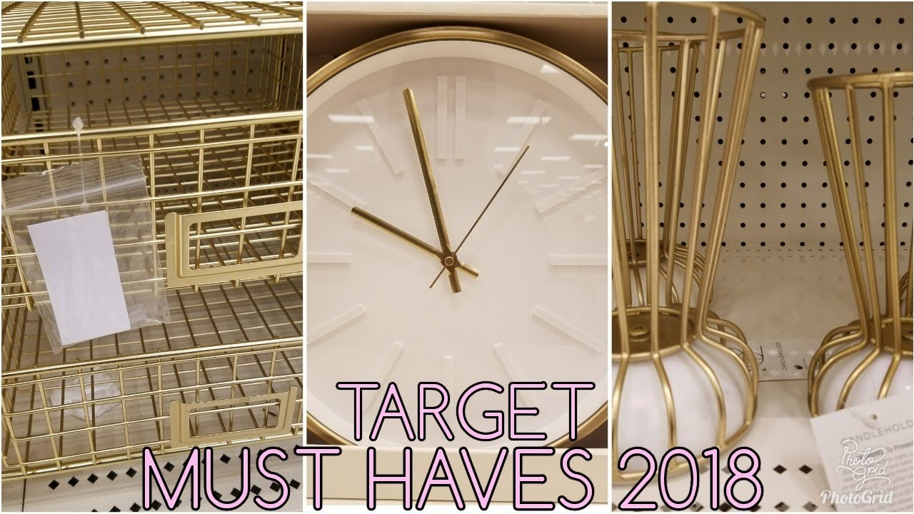 SHOP WITH ME: TARGET 2018 JANUARY  HOME DECOR COLLECTION  IS LIT!!! IDEAS FOR MY OFFICE