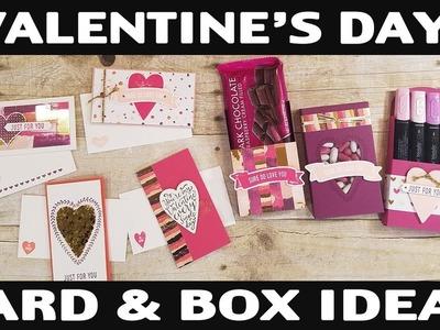 Stamping Jill - Valentine's Day Card & Box Ideas