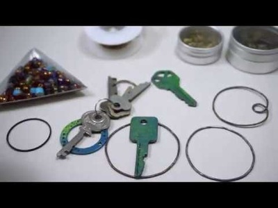 Steampunk Pendant - Using a Key to Make Jewellery