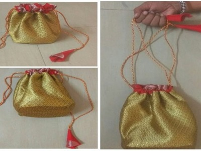 पोटली पर्स | Potli purse | Beautiful | Simple | Crafty
