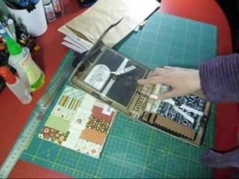 Tutorial flip flap paperbag album parte 1