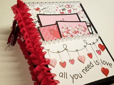 Valentine's Day Mini Album - DT for Country Craft Creations