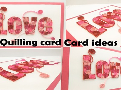 Valentines day greeting card | handmade greeting cards for valentine | valentines day card for him