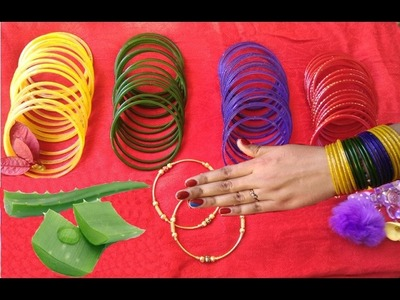 4 Easy Ways to Wear Bangles