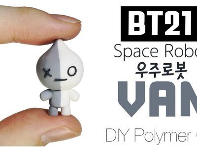 BT21 BTPlanet Series: How to DIY VAN Polymer Clay Tutorial