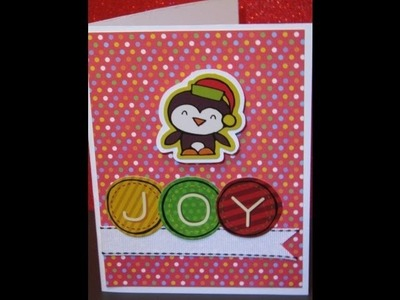 Christmas without the Cricut Card 12 of 12