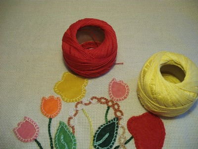Course of basic embroidery 23: An embroidery with felts