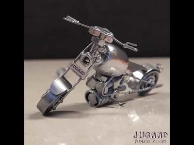 DIY Toy Motorcycle