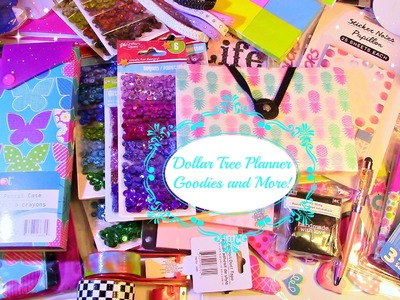 Dollar Tree Haul More Planner Supplies and Other Goodies Haul!