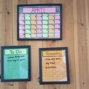Dry Erase Life Organizers (Set of 3)