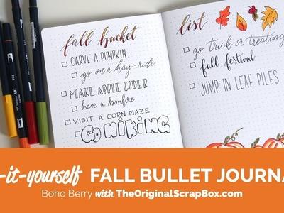 Fall Planner Checklist Tutorial w. Boho Berry