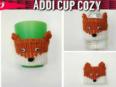 Fox Cup Cozy on the Addi Express