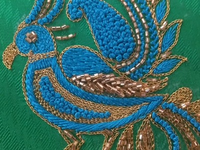 How to Embroidery a Bird