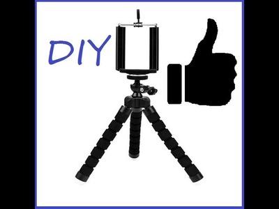 How to make a tripod for phone. jak zrobić statyw do telefonu