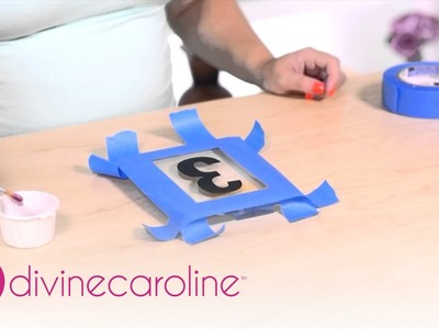 How to Make Acrylic Table Numbers | MORE