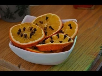 How To Make Your House Smell Like Christmas - With Oranges