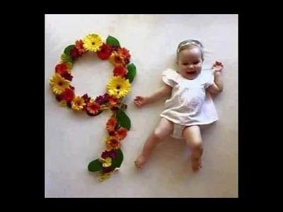 Ideas to photograph your baby: newborn to 12 month  صور رائعة لطفلك