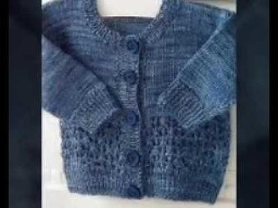Knitted design for kids sweater | handmade woolen sweater designs