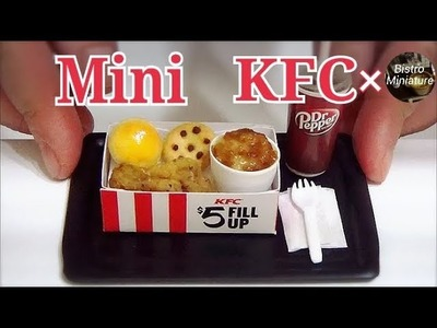 Making Mini Kentucky Fried Chicken