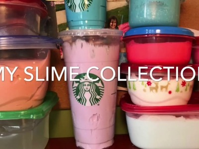 •My Slime Collection•