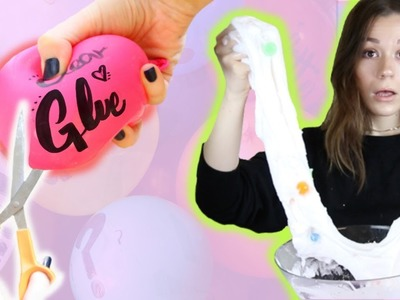 MYSTERY BALLOON SLIME CHALLENGE???? FANS DECIDE EVERY BALLOON I USE!! *disgusting and squishy*