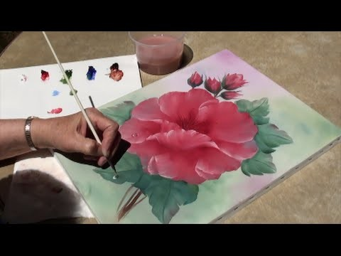 Painting With Yovette, How to paint a dew drop, Oil.
