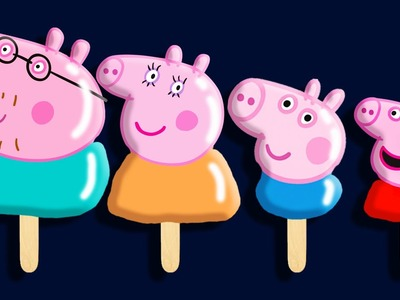 Peppa Pig Ice creams Play Doh Finger Family Song