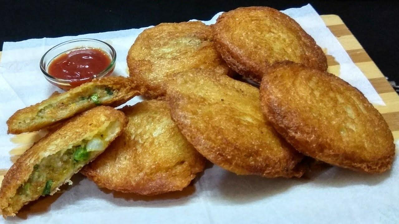 झटपट बनाये क्रिस्पी और स्वादिष्ट ब्रेड की कचौड़ी   Crispy Bread Kachori Recipe   Bread Recipe .