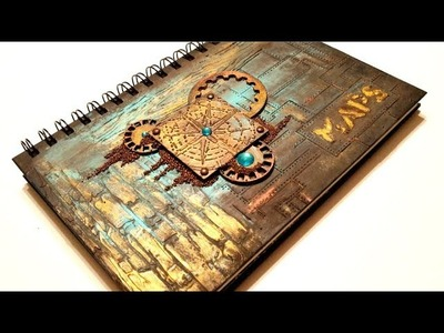 Travel Journal Cover Tutorial by Gabrielle Pollacco
