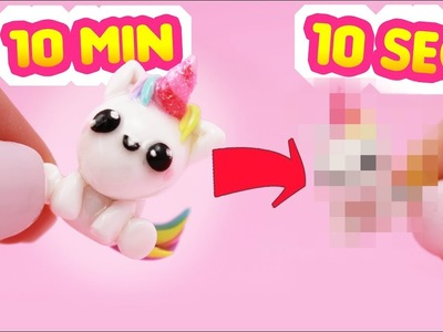 UNICORN #ClayTimeChallenge - Making an unicorn in 10 seconds!?