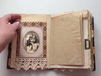 Vintage Junk Journal - for Alycia!