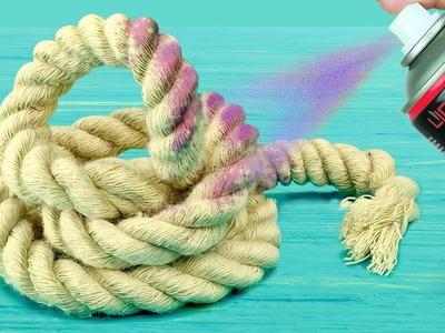 5 DIY Home Decoration Ideas! Rope DIY Compilation