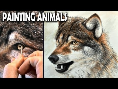 A Different Way To Paint Beautiful Animals