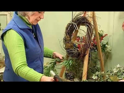 """""""Be My Valentine"""" Wreath. Learn to design this beauty inside Nancy's Inner Circle."""