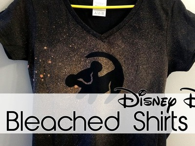 Bleached Shirts | 30 Days of Disney #3 | Creation in Between