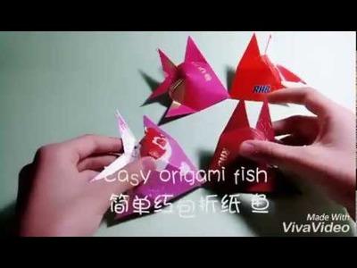 简单红包折纸鱼CNY Tutorial Easy Origami Fish