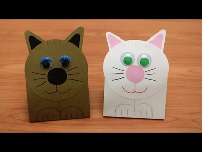 Craft: How to make a paper kitten