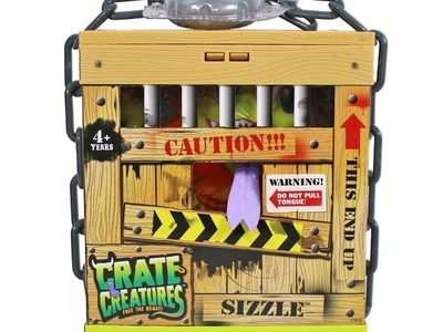 Crate Creatures Sizzle Unboxing Toy Review