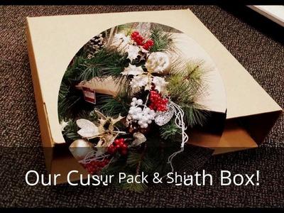 Custom Wreath Box with Pack & Ship Guarantee at The UPS Store of Katy & Fulshear