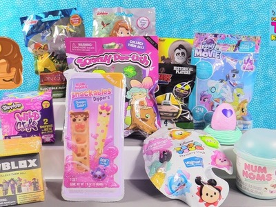 Disney Roblox Snackables Dippers Tsum Tsum Squish DeeLish Toy Review | PSToyReviews