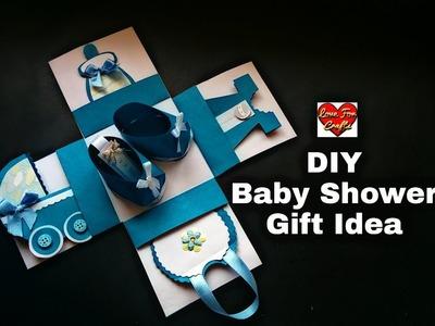 DIY - Baby Shower Gift Idea  | Baby Shower Explosion Box