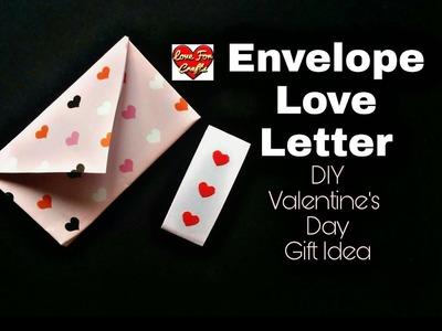 DIY - Envelope Love Letter for Valentine's Day | DIY - Valentine's Day Gift Idea