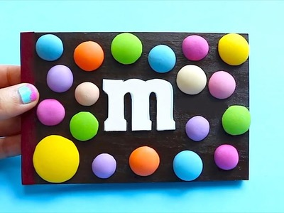 DIY M&M's Notebook | Easy & Cute School Supplies